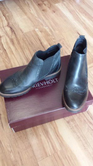 Drievholt Chelsea laarzen zwart