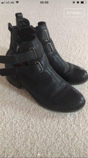 Bianco Chelsea Boot noir