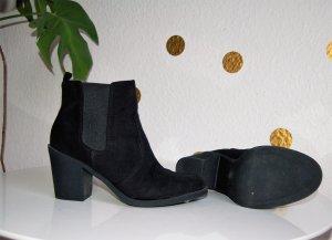 Chelsea Boots Stiefellette H&M 37 schwarz