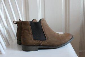 Tamaris Chelsea Boot cognac cuir