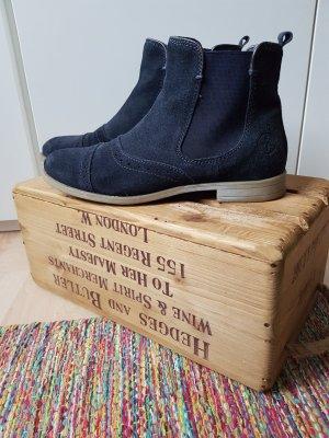 Arqueonautas Chelsea laarzen donkerblauw
