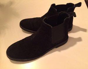 CHELSEA-Boots von Asos * Größe 38 * Nubuk-Leder * kaum getragen