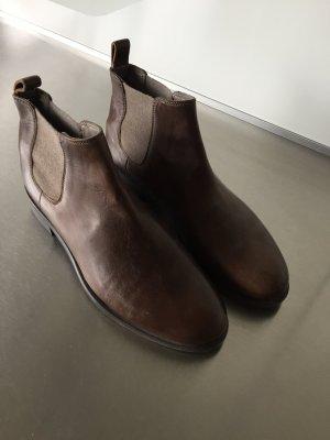 Chelsea Boots von brunelli cucinelli, 38,5, braun