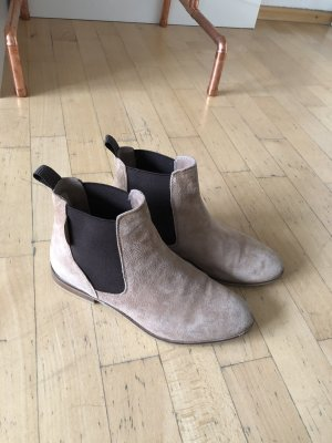 Cox Chelsea Boots beige-dark brown