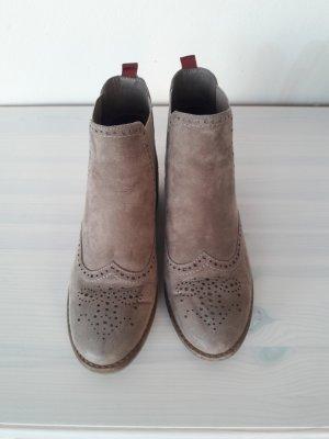 Deichmann Chelsea laarzen grijs-bruin