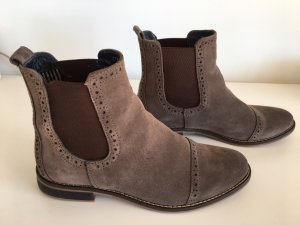 Drievholt Chelsea Boots anthracite-taupe