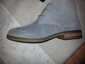 Marc Adam Chelsea Boots grey leather