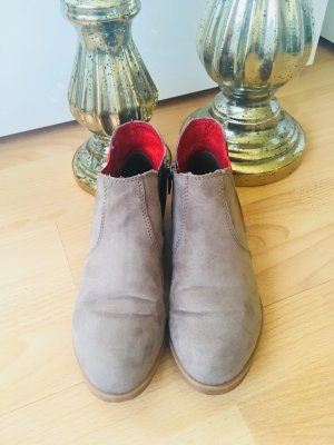 s.Oliver Chelsea Boot rouge-gris brun