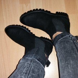 Shoot Chelsea Boot noir cuir