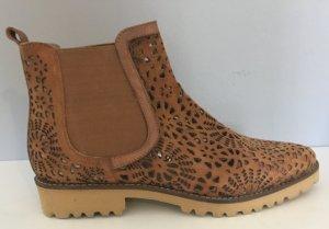 Xyxyx Chelsea Boot brun cuir