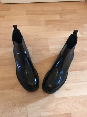 Chelsea Stiefel aus Lackleder von Vagabond