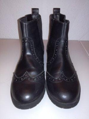 Chelsea Stiefel schwarz Gr. 37