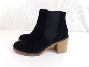 Zign Chelsea Boot noir-brun sable
