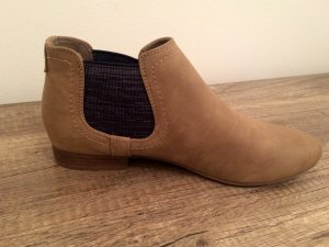 Chelseaboots Beige Blau Ankle Boots