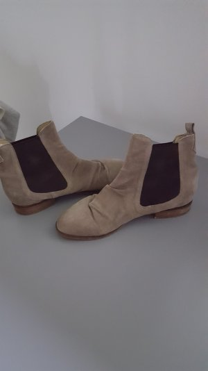 Chelseaboots in wildleder