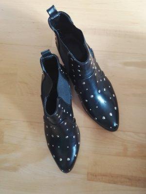 Chelsea laarzen zwart-goud