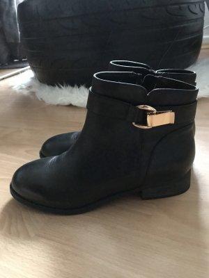 Buffalo Chelsea Boot noir-doré