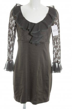 Cherry Lace Dress dark grey extravagant style