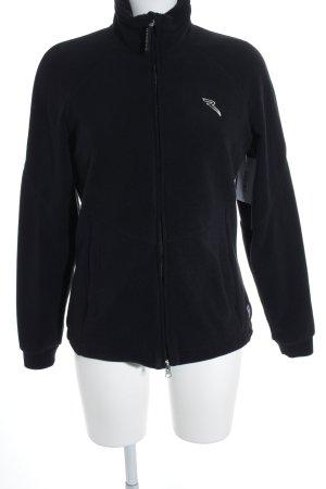 Chervo Fleece Jackets black-white casual look
