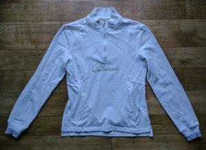 Chervo Sweatshirt blanc coton