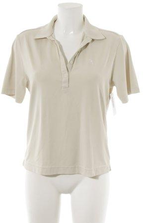 Chervo Polo-Shirt creme sportlicher Stil