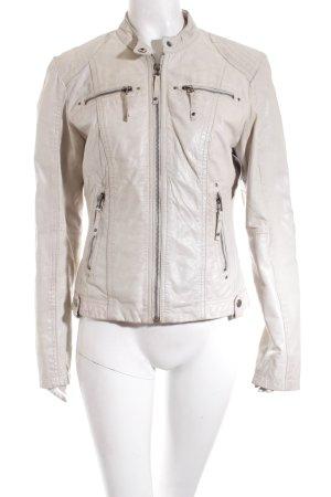 Chevirex Leather Jacket beige