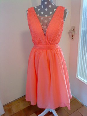 Chi Chi London Cocktail Dress apricot-orange