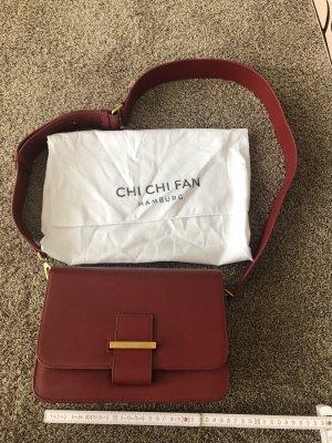 chi chi fan Box Bag Plum  NP339