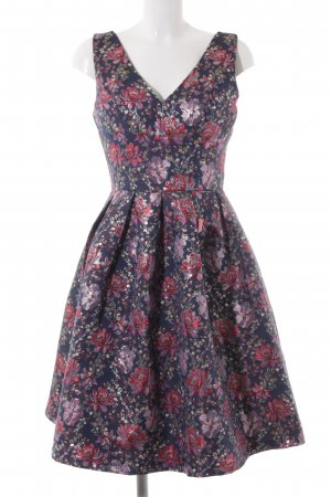 Chi Chi London A-Linien Kleid florales Muster Party-Look