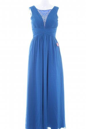 Chi Chi London Evening Dress blue elegant