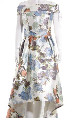 Chi Chi London Abendkleid florales Muster extravaganter Stil