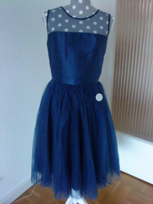 Chi Chi London Cocktailkleid / Abikleid / Abendkleid * Gr. 38 * blau