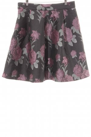 Chi Chi London Flared Skirt flower pattern elegant
