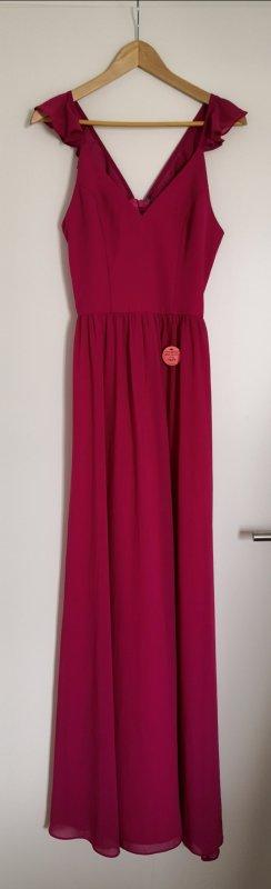 Chi Chi London Evening Dress pink-magenta