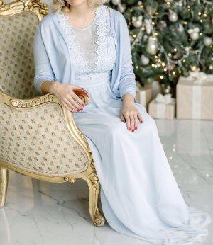 Chi Chi London Evening Dress azure