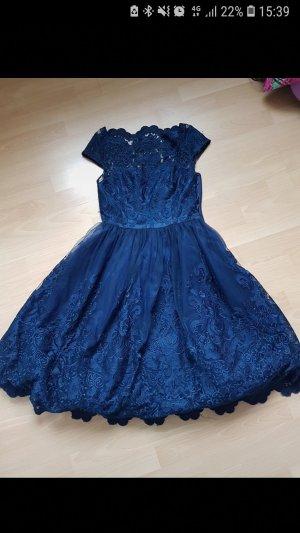 Chi Chi London Evening Dress blue