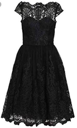 Chi Chi London Kleid Matilda schwarz