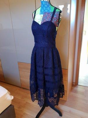 Chi Chi London Midi Dress blue-dark blue