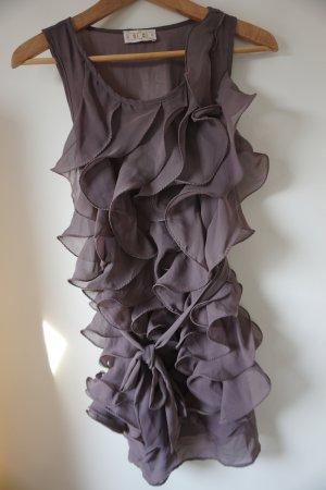 Chi Chi London Kleid mit Volants Flieder