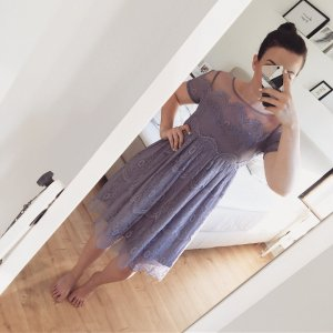 Chi Chi London Lace Dress multicolored
