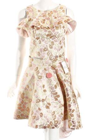 Chi Chi London Kostüm florales Muster extravaganter Stil