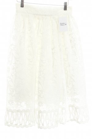 Chi Chi London Lace Skirt white romantic style