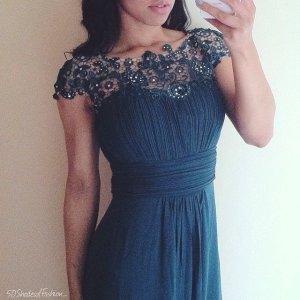 Chi Chi London Wunderschönes Abendkleid blau 36 (8)Neu