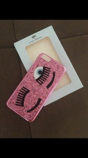 Chiara Ferragni Étui pour téléphone portable rose