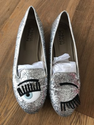 Ballerinas silver-colored