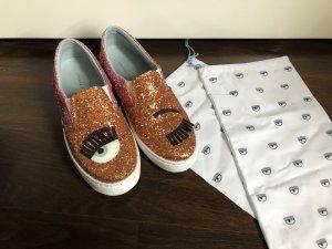 Chiara Ferragni Sneaker slip-on rosa-albicocca