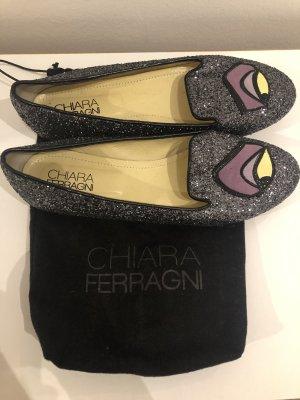 Chiara Ferrangi Ballerinas mit Malificent Augen