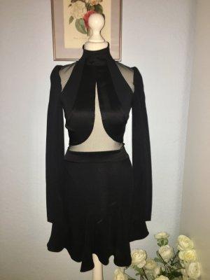Chic Abend Mini schwarz sexy Kleid
