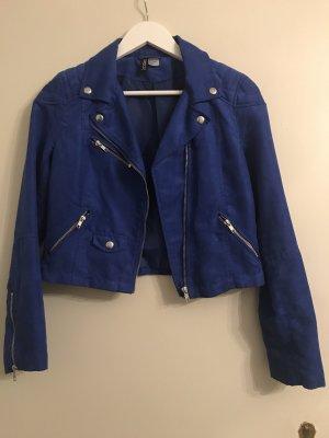 chic glam fancy baddie velour leather jacket fake leder jacke