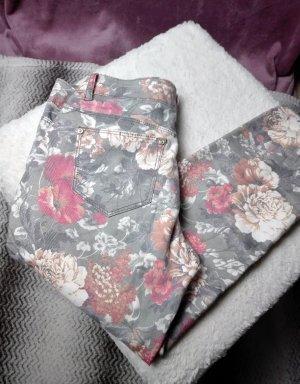 Pantalone elasticizzato multicolore